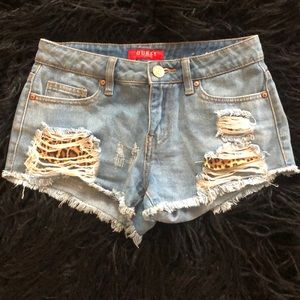 Guess Brand Jean Shorts